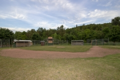 Baseball Field iFrancis M. Pattno & John F.  Gale Memorial Park in AuSable Forks NY
