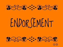 endorsement image
